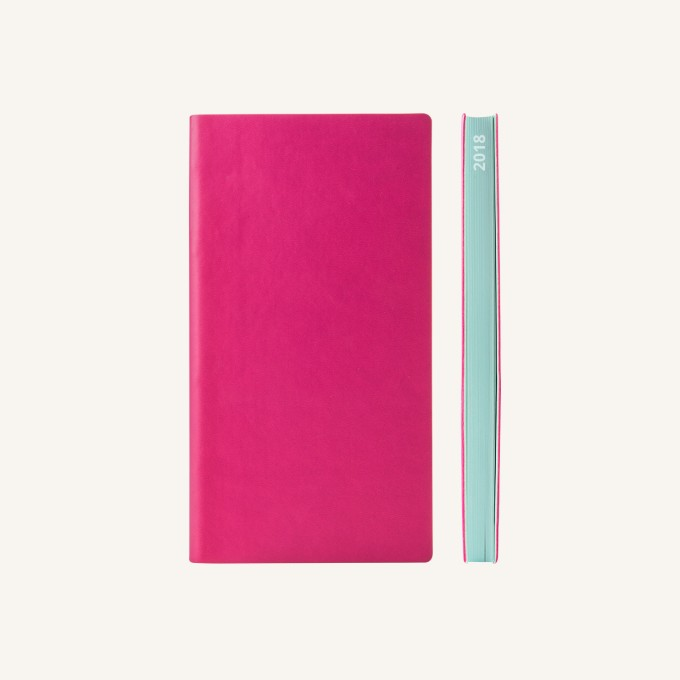 2018 Signature Diary – Pocket, Magenta, Chinese version