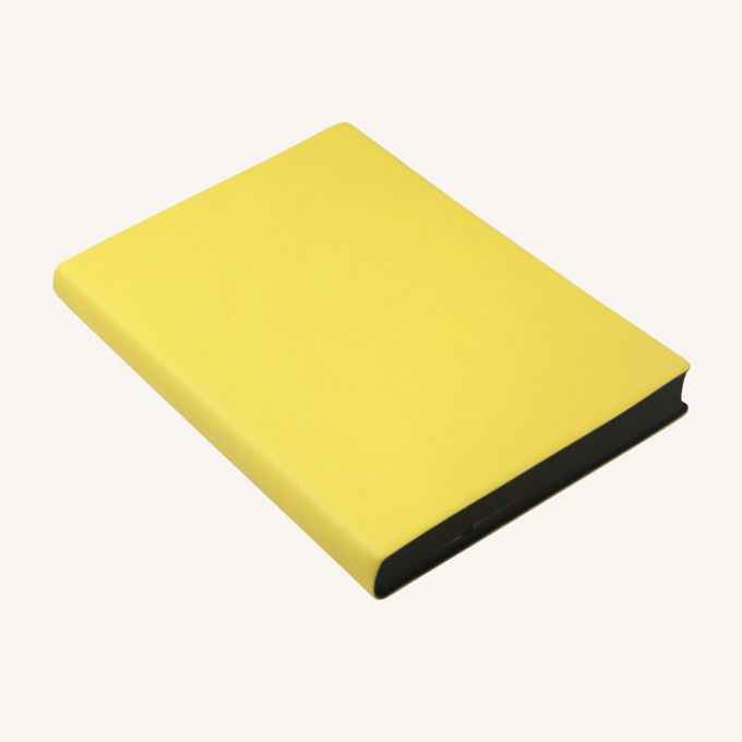 2018 Signature Diary – A5, Yellow, Chinese version