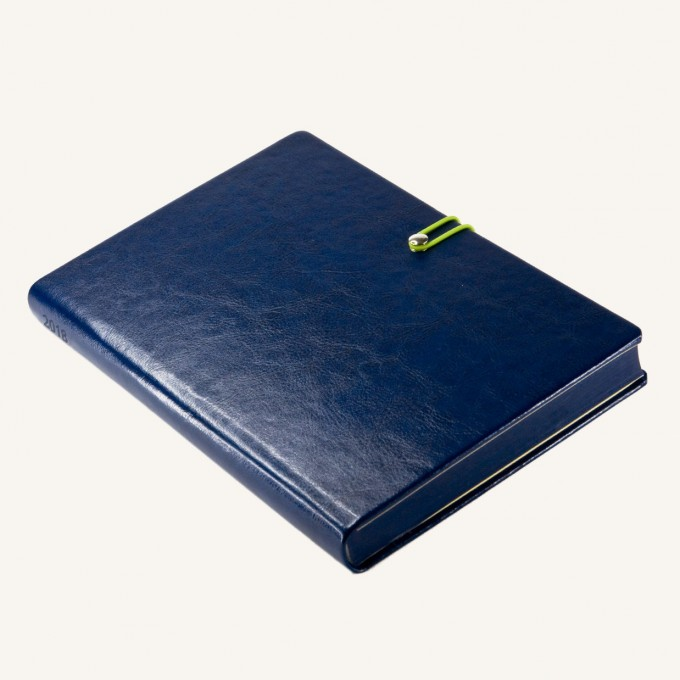 2018 Executive Diary – A5, Dark Blue, Chinese version
