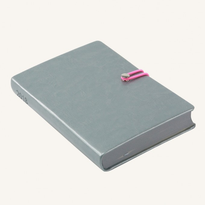 2018 Executive Diary – A6, Silver, Chinese version
