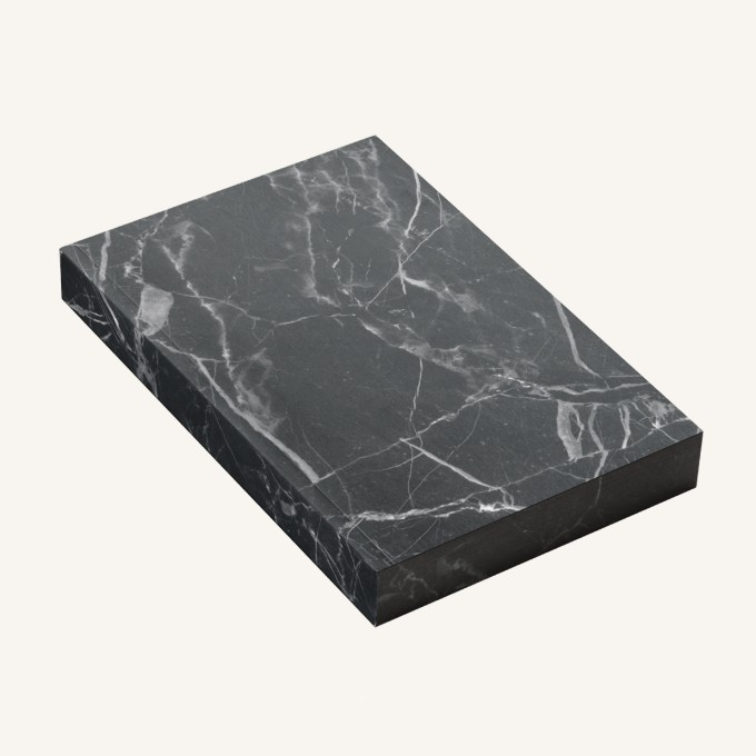 金木石系列橫線本-A6, 黑白根雲石