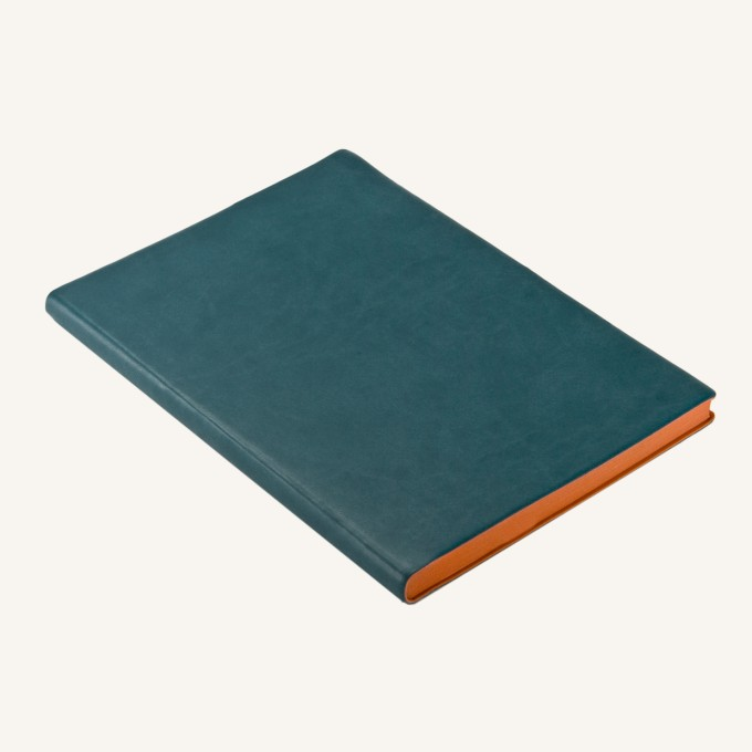 Signature Dotted Notebook - A5, Green