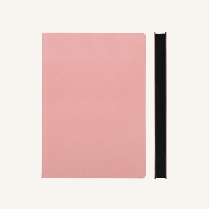 Signature Dotted Notebook - A5, Pink