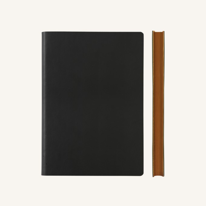 Signature Dotted Notebook - A5, Black