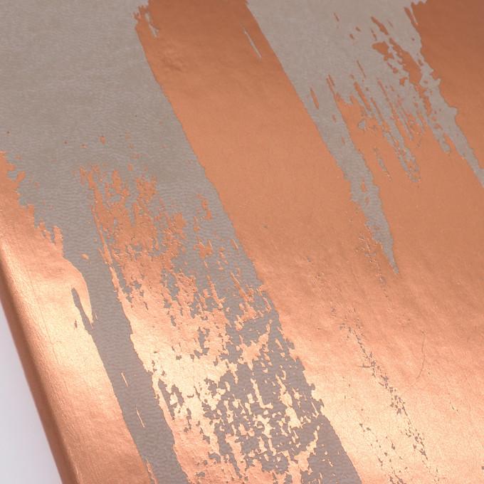 Signature Paint Art Plain Notebook - A5, Copper