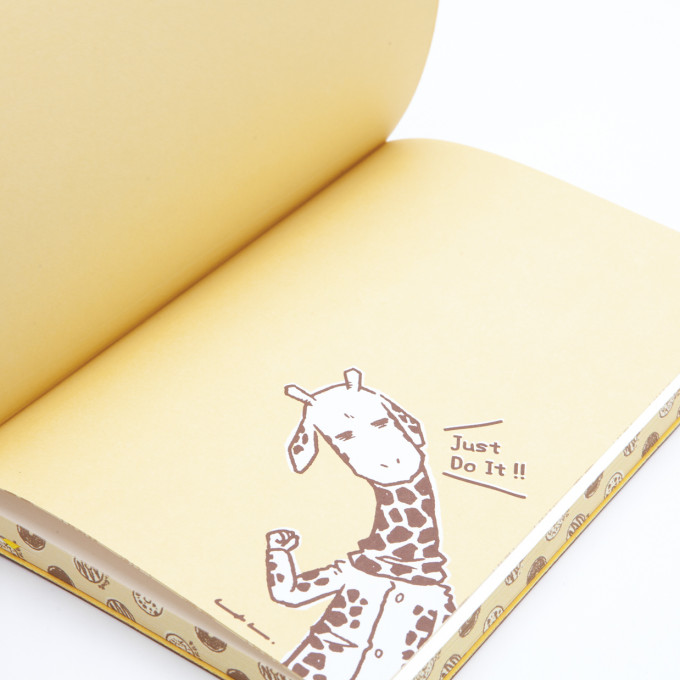 Signature Plain Notebook Mr. Giraffe Edition - A5, Sketch A Dream