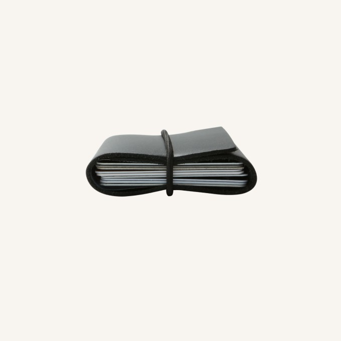 The Moneywrap Elastic Straps - Black