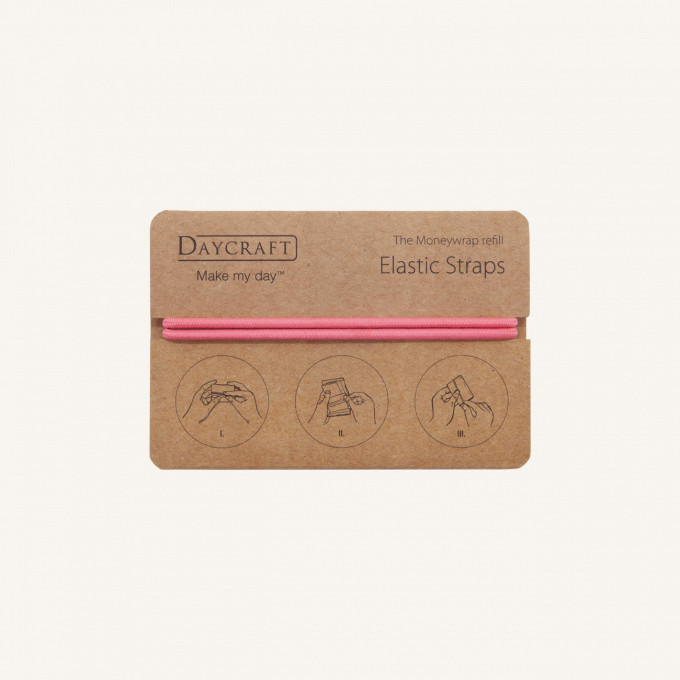 The Moneywrap 橡筋圈 - 粉紅色