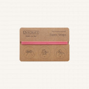 The Moneywrap Elastic Straps - Pink