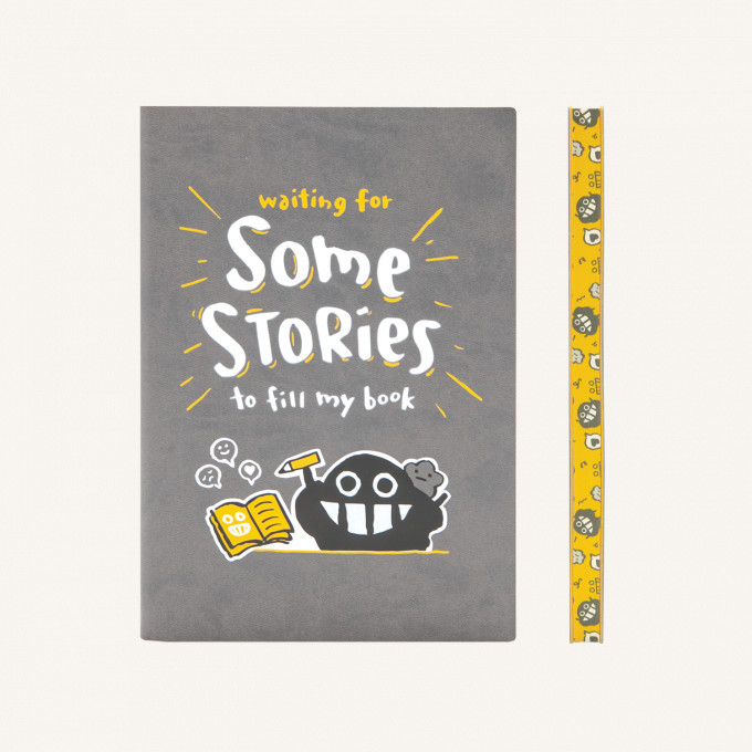 Signature Dotted Notebook Dustykid Edition - A5, Your Stories