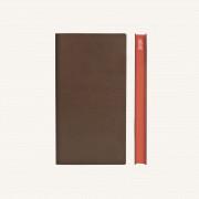 2020 Signature Diary – Pocket, Brown, English version