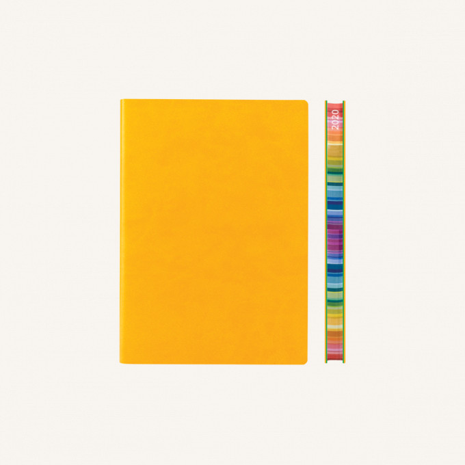 2020 Signature Chromatic Diary – A6, Yellow, Chinese version