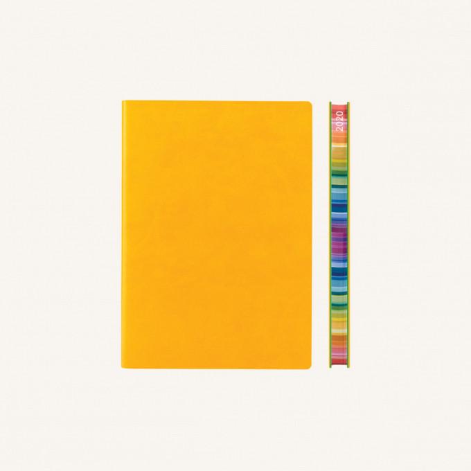 2020 旗艦色彩系列日記 – A6, 黃色, 中文版