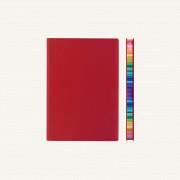 2020 旗艦色彩系列日記 – A6, 紅色, 英文版
