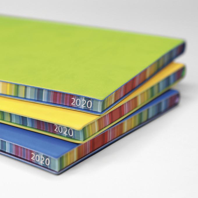 2020 Signature Chromatic Diary – A6, Blue, English version