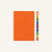 2020 旗艦色彩系列日記 – A6, 橙色, 英文版