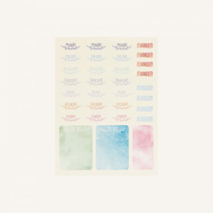 Bujo Planner Stickers Set