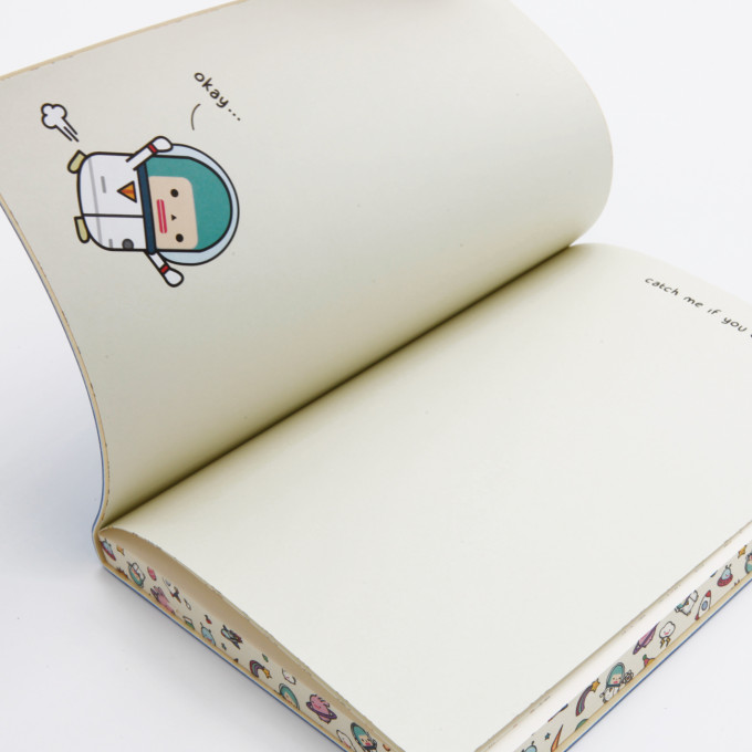 Signature Lined Notebook Capsubeans Edition - A5, Space