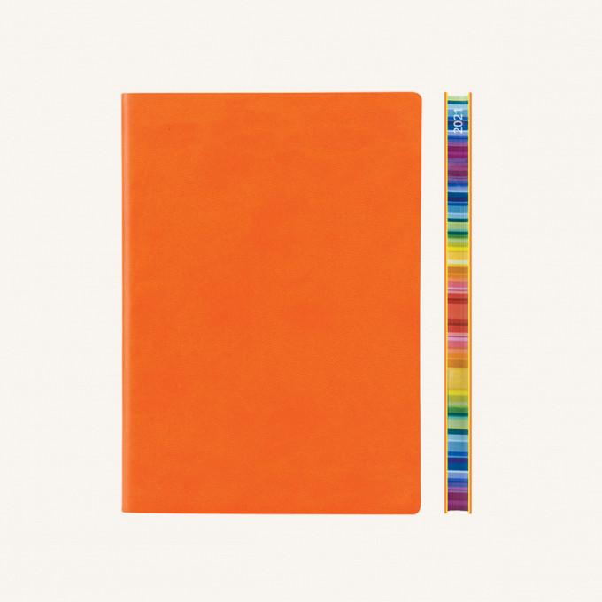 2021 Signature Chromatic Diary – A5, Orange, English version