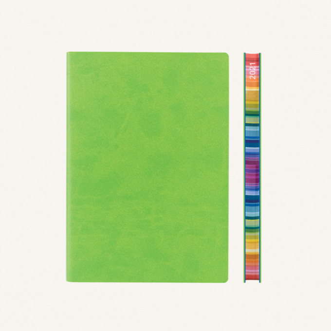 2021 Signature Chromatic Diary – A5, Green, English version