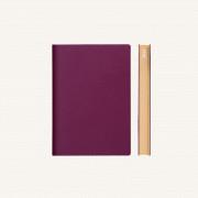 2021 Signature Diary – A6, Purple, English version