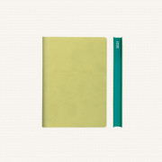 2021 Signature Diary – A6, Light Green, Chinese version