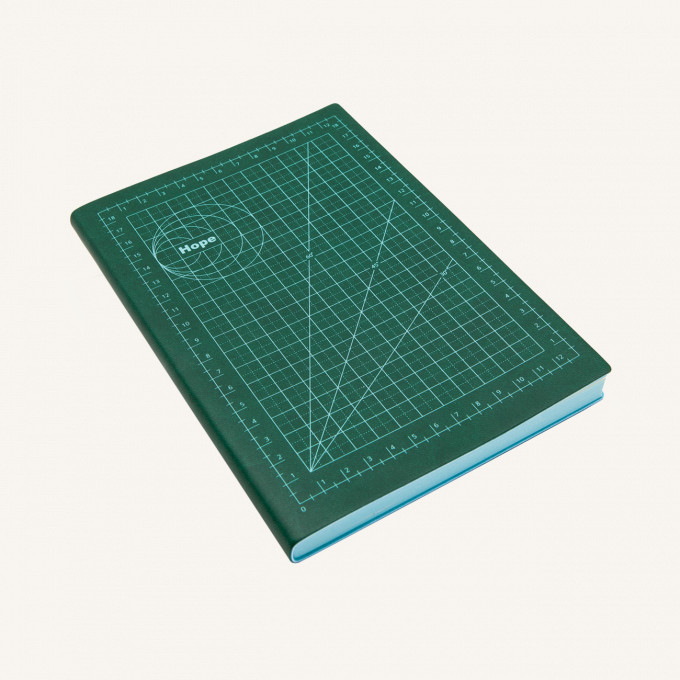 Signature Mathematical Grids Grid Notebook - A5, Hope