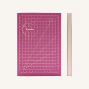 Signature Mathematical Grids Grid Notebook - A5, Passion