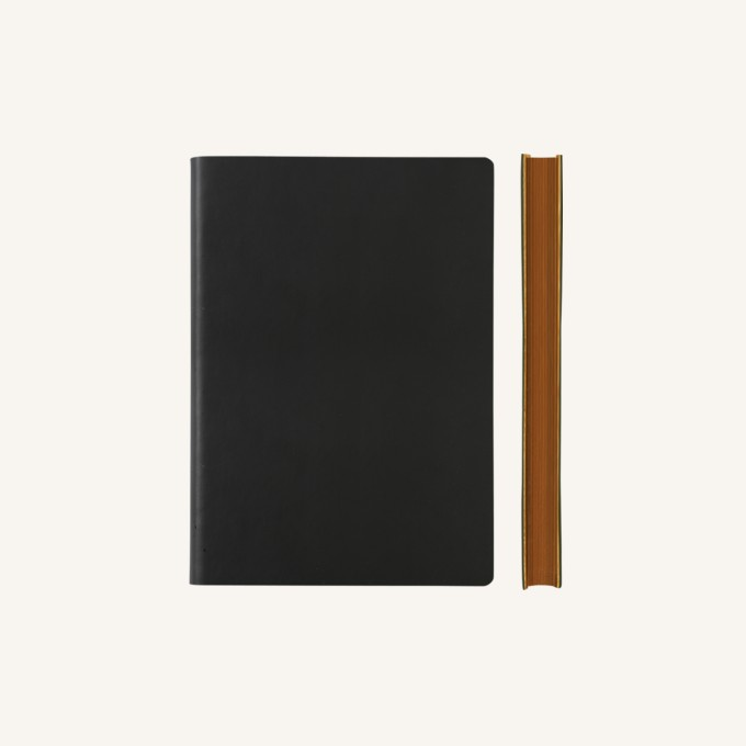 Signature Lined Notebook – A6, Black