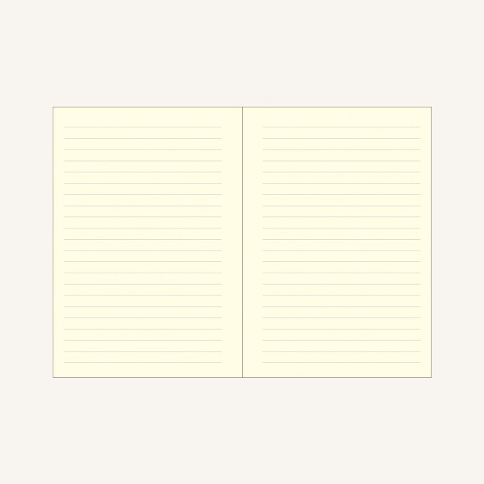 Signature Lined Notebook – A6, Red