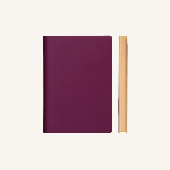 Signature Lined Notebook – A6, Purple