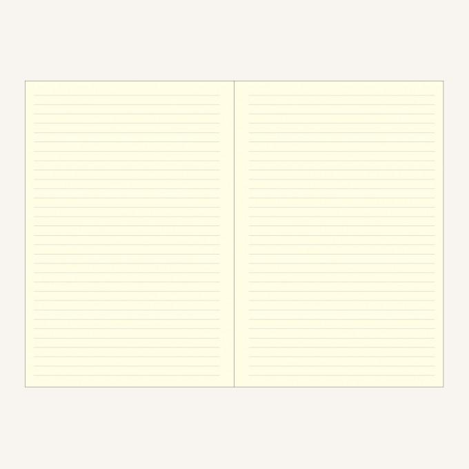 Signature Lined Notebook – A5, Light Green