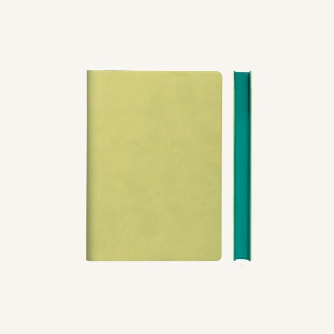 Signature Lined Notebook – A6, Light Green