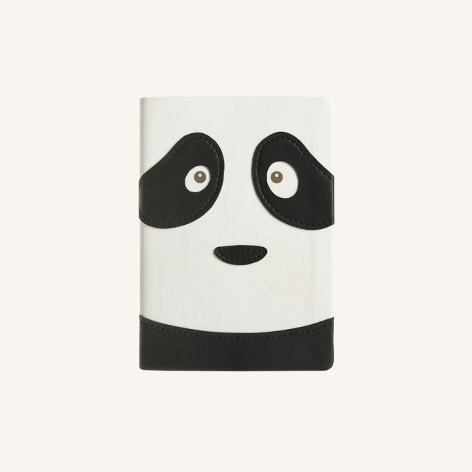 Animal Pals Lined Notebook – A6, Panda