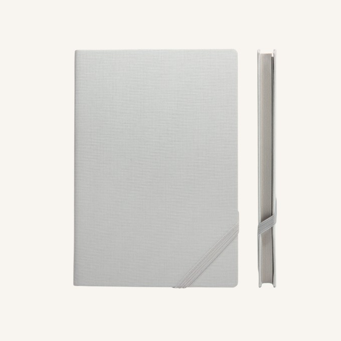Make My Day Lined Notebook – A5, Grey
