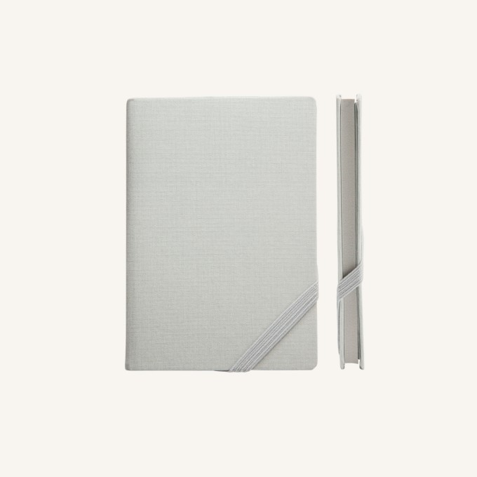 Make My Day Lined Notebook – A6, Grey