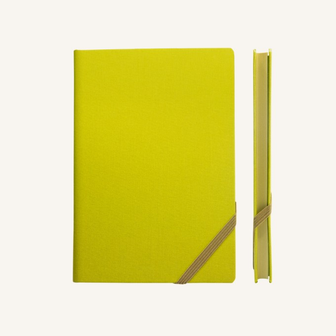 Make My Day Lined Notebook – A5, Green