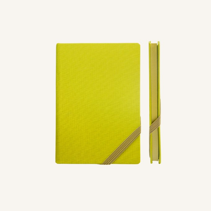 Make My Day Lined Notebook – A6, Green