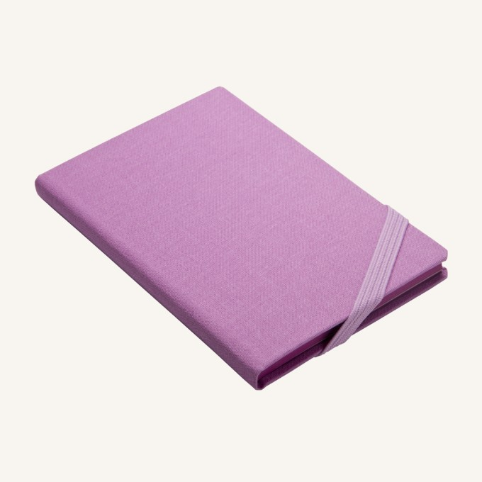 Make My Day Lined Notebook – A6, Purple