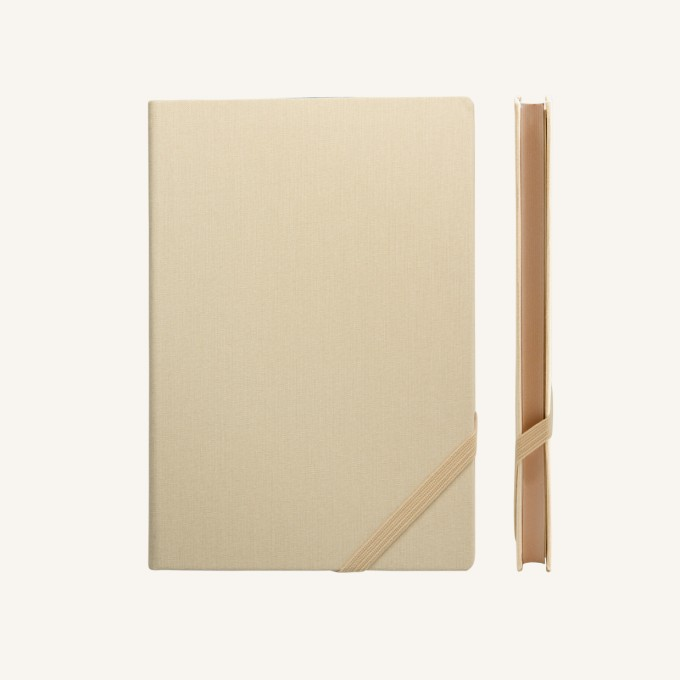 Make My Day Lined Notebook – A5, Apricot