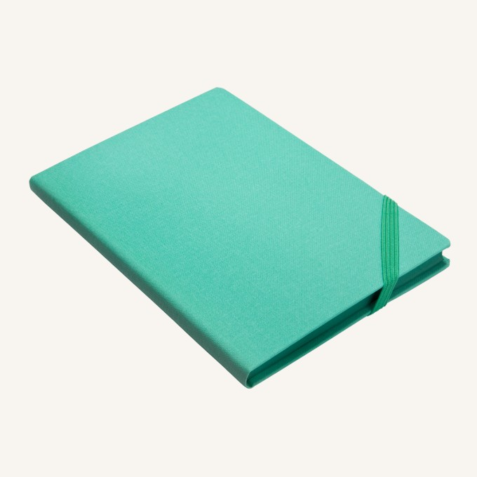 Make My Day Lined Notebook – A5, Turquoise