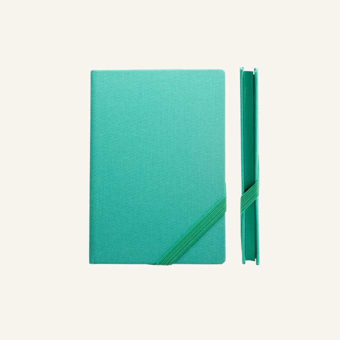 Make My Day Lined Notebook – A6, Turquoise