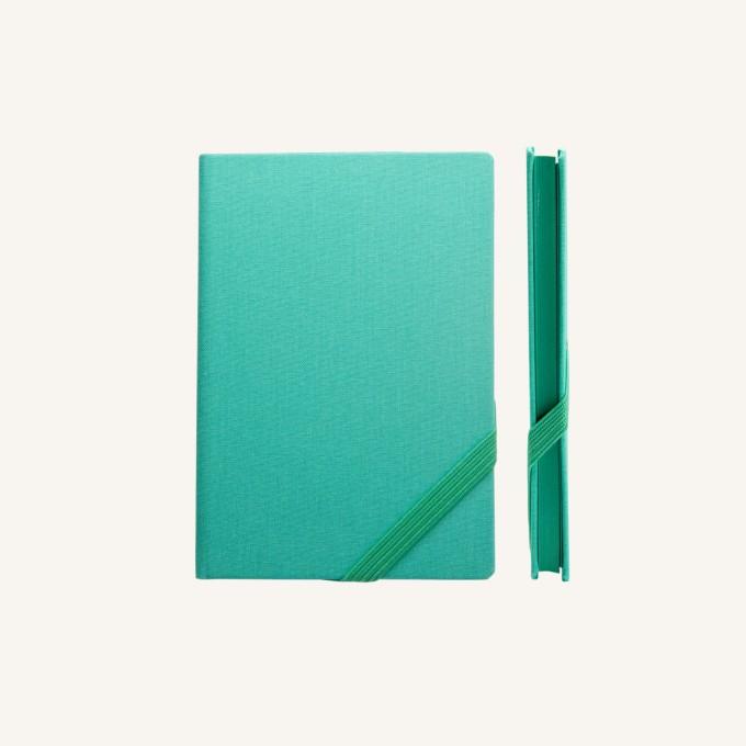 我的一天系列橫線本 – A6, 綠松色