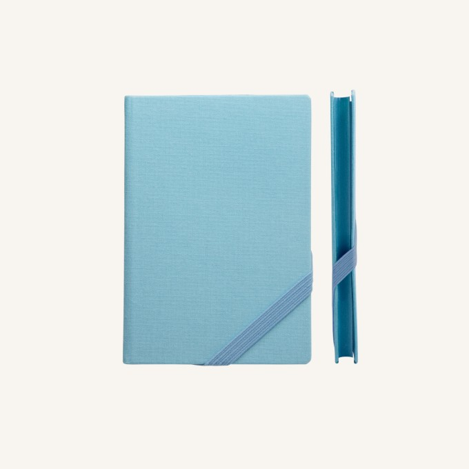 Make My Day Lined Notebook – A6, Sky Blue