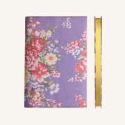 花花世界系列橫線本 – A5, 紫色