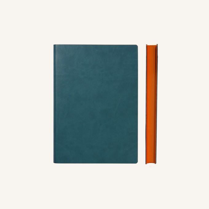 Signature Plain Notebook – A6, Green