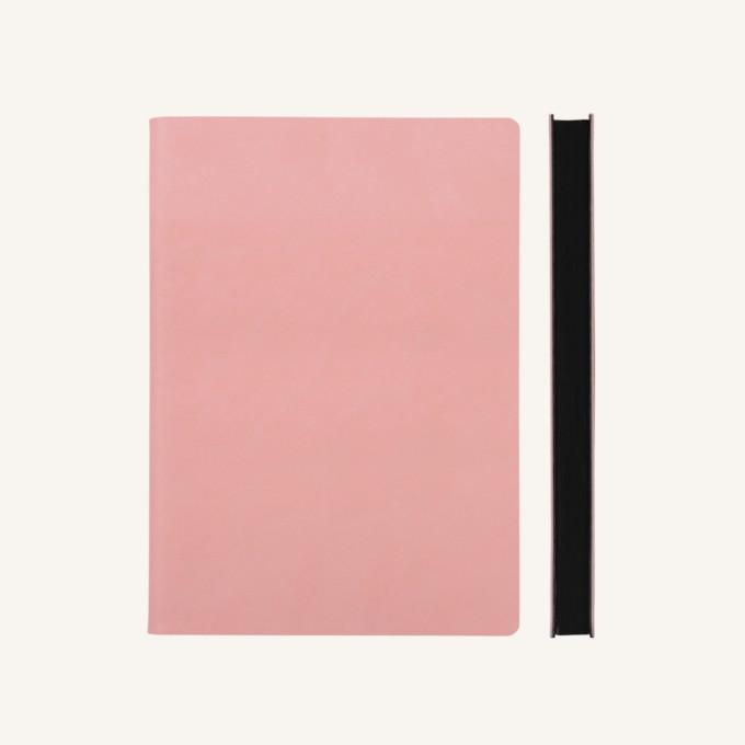 Signature Plain Notebook – A5, Pink