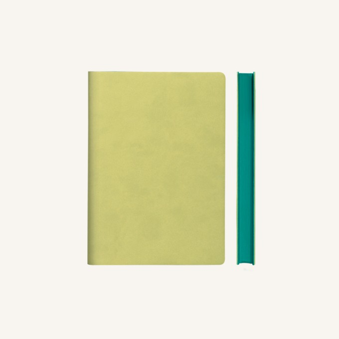 Signature Plain Notebook – A6, Light Green