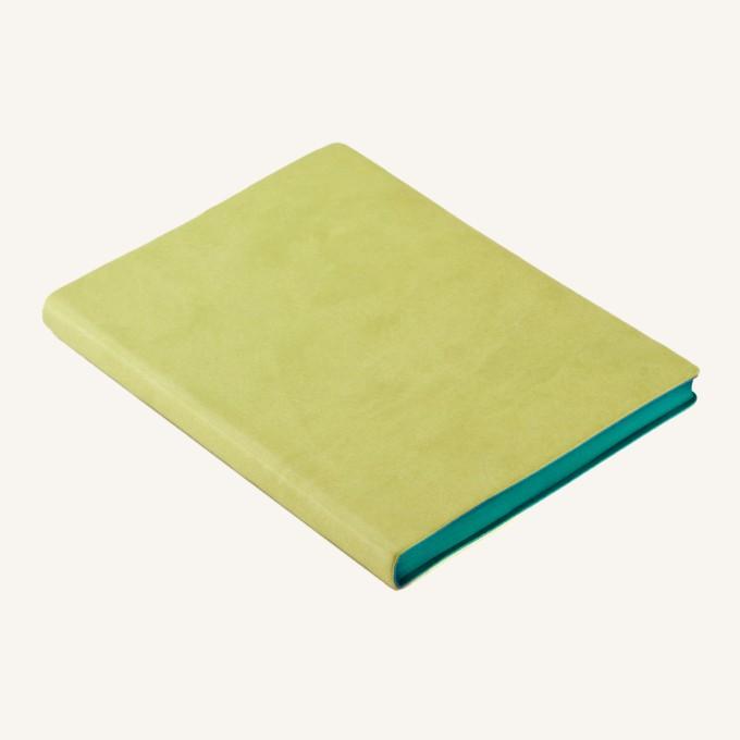 Signature Plain Notebook – A6, Light Green