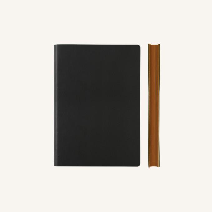 Signature Plain Notebook – A6, Black